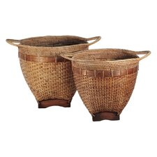 Wayan Rice Basket (Set of 2)