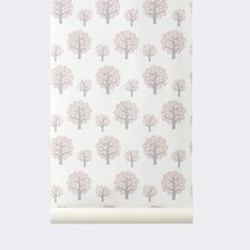 "WallSmart Dotty 32.97' x 20.87"" Botanical Wallpaper"