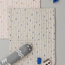 Ferm Living Kids Cone Quilted Cotton Blanket