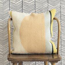 Ferm Living Kelim Semi Circle Wool Throw Pillow