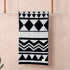 Ferm Living Jacquard Knitted Inka Cotton Blanket