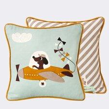 Ferm Living Kids Kite Plane Cotton Throw Pillow