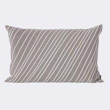 Ferm Living Striped Cotton Lumbar Pillow