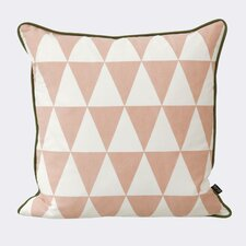 Ferm Living Large Geometry Cotton Throw Pillow