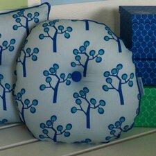 Graphic Tree Kids Round Cotton Throw Pillow
