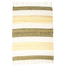 Hampton High Count Hand-Woven Maize Area Rug