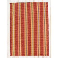 Chatham Red Clay Stripe Area Rug
