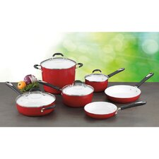 Elements 10 Piece Non-Stick Ceramic Cookware Set