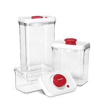 6-Piece Fresh Edge Vacuum-Seal Food Storage Container Set