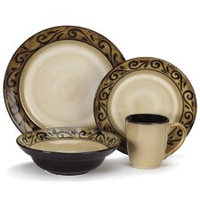 Isere 16 Piece Dinnerware Set