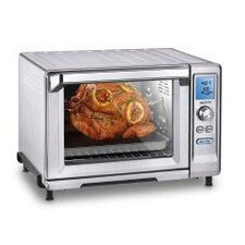 Rotisserie 8-Cubic Foot Convection Toaster Oven