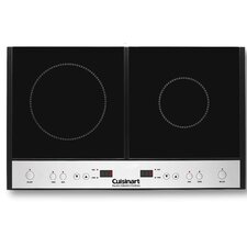 "26.75"" Electric Induction Cooktop with 2 Burners"