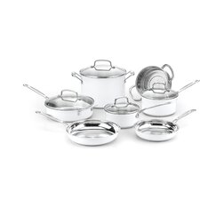 Chef's Classic 11 Piece Stainless Steel Cookware Set