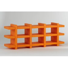 "Booky 4 Shelf Unit 27.6"" Bookshelf"