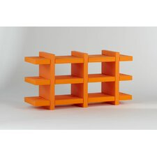 "Booky 12 Shelf Unit 27.6"" Bookshelf"