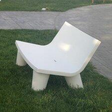 Low Lita Polyethylene Love Garden Bench