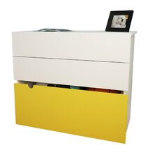 Taxi 2 Drawer Chest with Storage Trunk