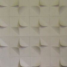 """PaperForms MIO V2 1' x 12"""" Geometric 3D Embossed 12 Piece Tile Wallpaper"""