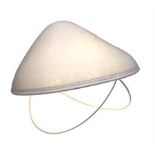 "Lighting Shroom 8"" H Table Lamp with Bowl Shade"