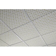FoldScapes Square 2 ft. x 2 ft. Drop-In Ceiling Tile in White