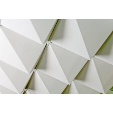 FoldScapes Peak 2 ft. x 2 ft. Drop-In Ceiling Tile in White