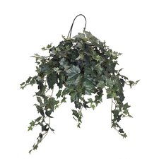 Artificial Ivy Hanging Plant in Basket