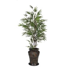Artificial Black Bamboo Tree in Decorative Vase