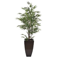 Artificial Black Bamboo Tree in Planter