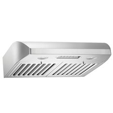 "Brillia 30"" 680 CFM Ducted Under Cabinet Range Hood"