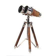 Decorative Brass Binocular on Stand