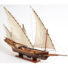 Xebec Sailing Model Ship