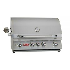"30"" Angus Built-In Gas Grill with Lights"