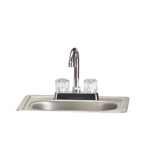 Stainless Steel Sink with Faucet