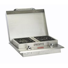 Stainless Steel Liquid Propane Double Side Burner
