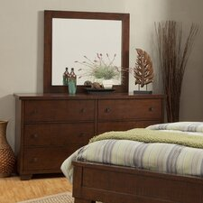 Durango 6 Drawer Dresser with Mirror