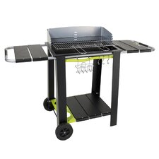 Caldeira Charcoal Barbecue with Side Shelf