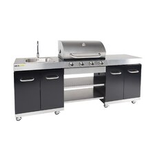 Summer Gas Barbecue with 4 Burners