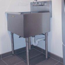 "36"" x 24"" Single Freestanding Utility Sink"