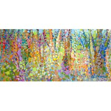 Abstract Wilderness Print of Painting on Canvas
