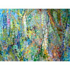 Abstract Woodland by Angelo Franco Painting Print on Wrapped Canvas