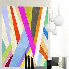 Diagonal Abstract Wall Decal