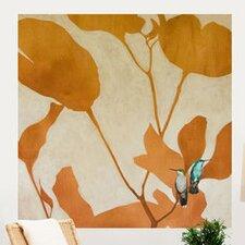 Little Birds Big World Wall Mural