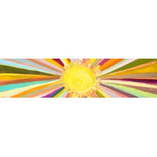 'Little Sunshine' by Eli Halpin Painting Print on Wrapped Canvas