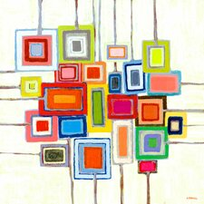 """""""Lollipops"""" by Andrew Daniel Painting Print on Canvas"""