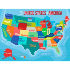 The United States Of America Canvas Art