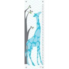 Modern Giraffe Growth Chart