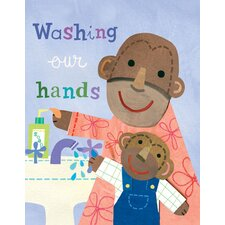 Washing Our Hands Wall Art