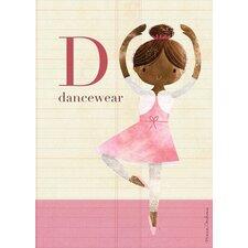 Fashion Dancewear Canvas Art