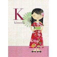 Fashion Kimono Canvas Art