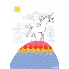 Unicorn Hill Canvas Art
